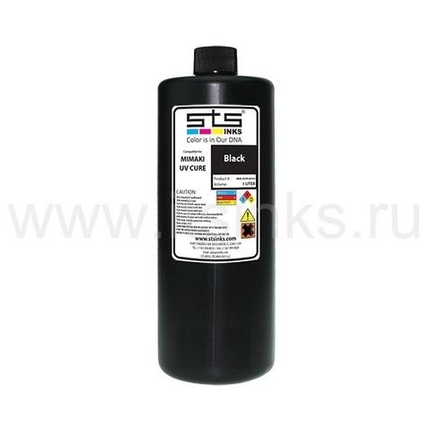 УФ - чернила STS для Mimaki LH-100 Black 1000 мл