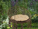 Подвесное кресло Aruba c деревянным каркасом Майя