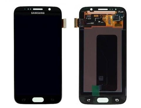 LCD SAMSUNG Galaxy S6 G920F + Touch Black Orig (黑色)