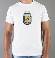 Футболка с принтом Лионель Месси (Lionel Messi) белая 0020