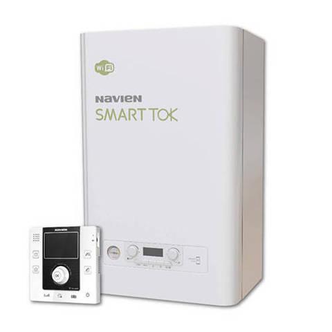 Котел газовый настенный Navien Smart Tok  - 35 кВт (двухконтурный, закрытая камера)