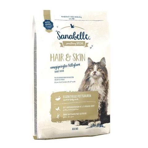 10 кг. BOSCH SANABELLE NEW Сухой корм для выставочных и привередливых кошек Hair&Skin
