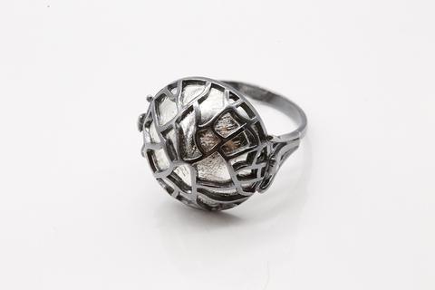 Кольцо из серебра 925 без вставок
