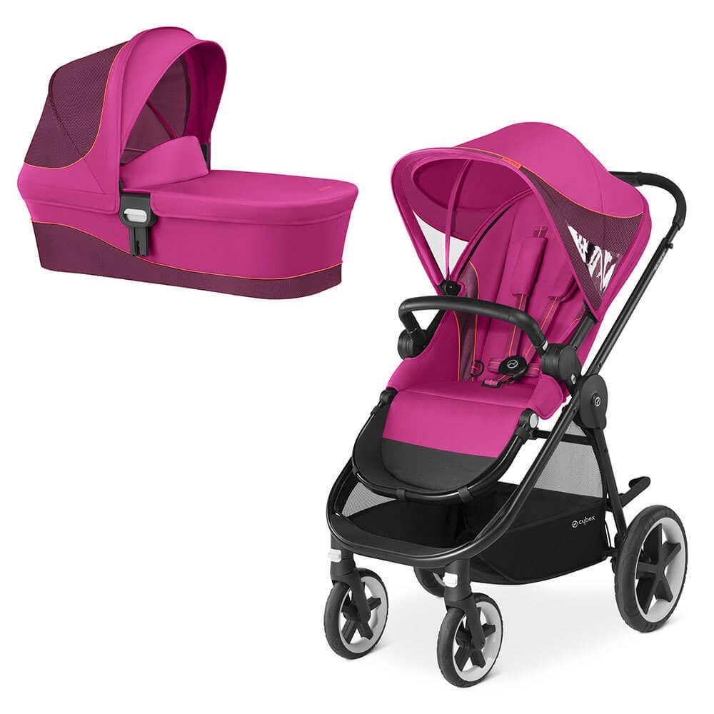 Cybex Balios M 2 в 1, для новорожденных Детская коляска Cybex Balios M 2 в 1  Passion Pink Balios-M-2-в-1-Passion-Pink.jpg