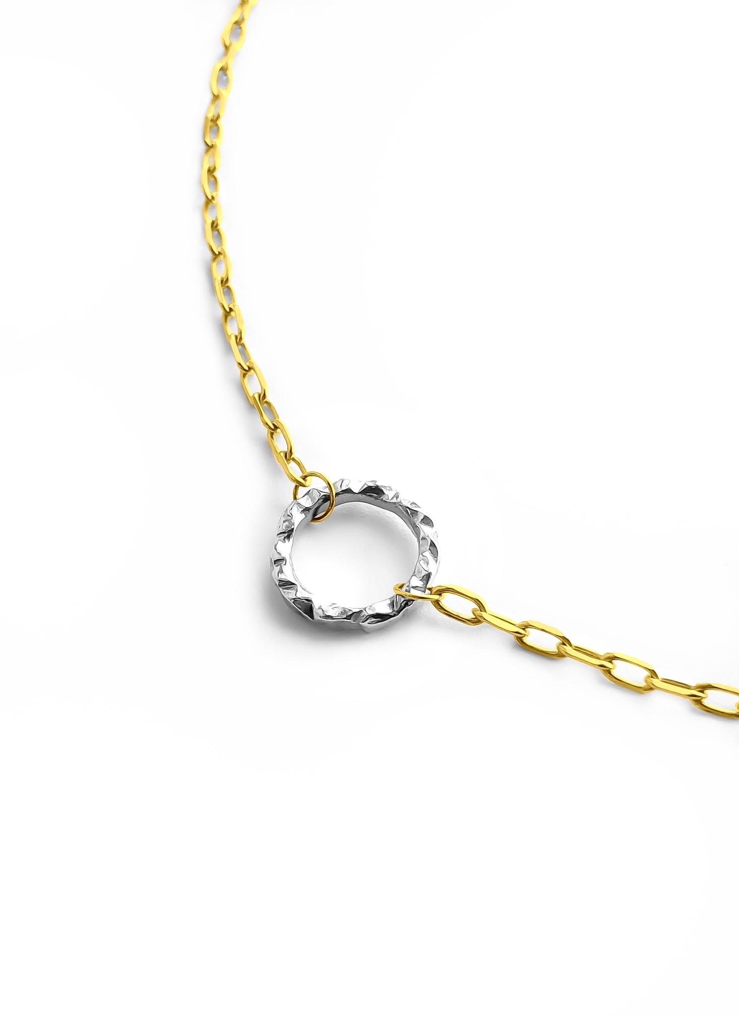 Серебряное колье-чокер