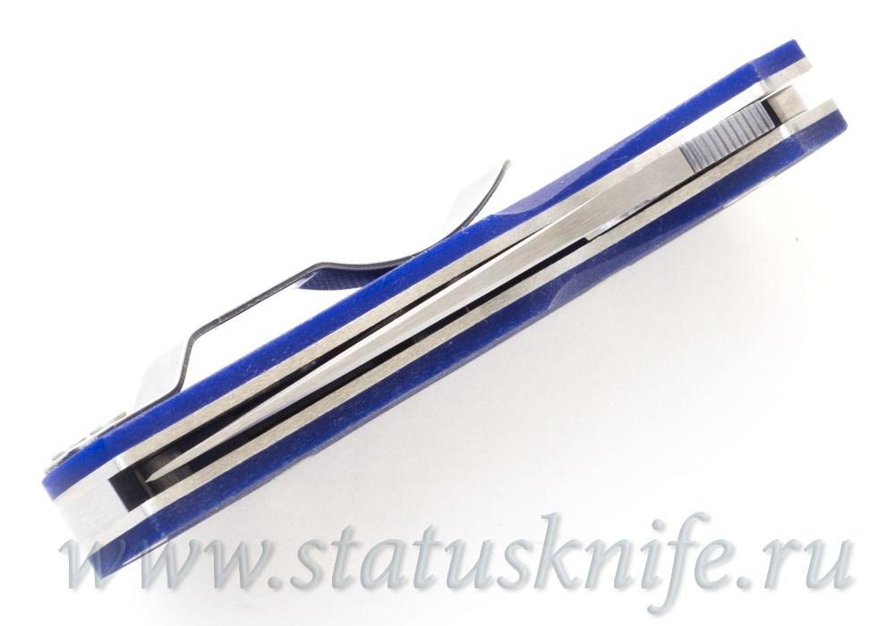 Нож Spyderco C41GPDBL5 Native 5 Dk Blue S110V - фотография