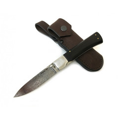 Складной нож Ласка-Б, ХВ5 алмазка, черный граб