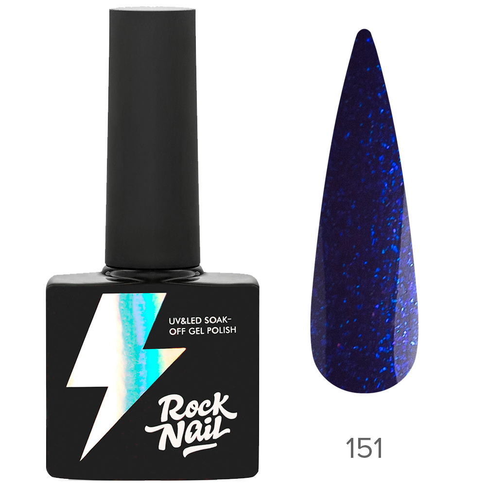 Гель-лак RockNail 151 Kashmir Sapphire 10мл