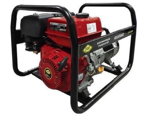 Генератор бензиновый DDE GG5500Z однофазн.ном/макс. 5,0/5,5кВт (CS188F, т/бак 6.5 л,ручн/ст., 74кг)