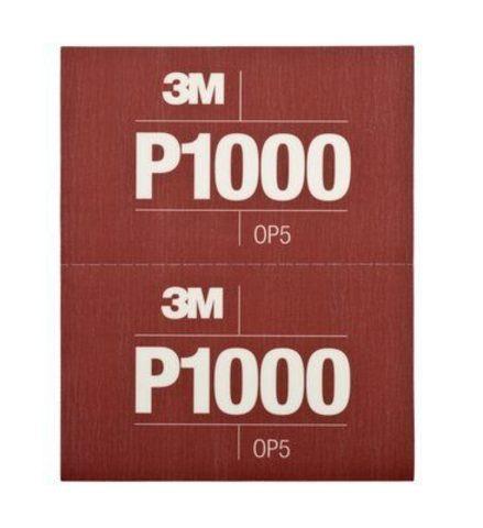 3М Лист Hookit™ абразивный, гибкий, Р1000, 170мм х 140мм 34341