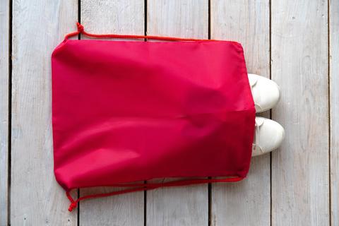 Мешок для сменной обуви  1отд. 340*420мм Фуксия (Ст.25)