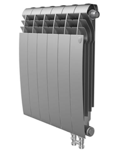 Радиатор Royal Thermo BiLiner 350 V Silver Satin - 6 секций