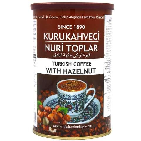 Турецкий кофе молотый с фундуком, Nuri Toplar Turkish, 250 г