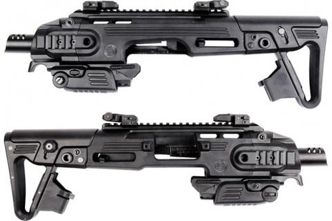 Насадка тактическая RONI G1 (CAA) , для Glock 17, 18C, 19, черная (артикул 17948)