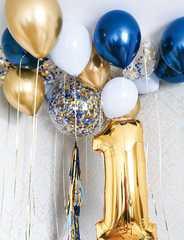 Гелиевые шары на год