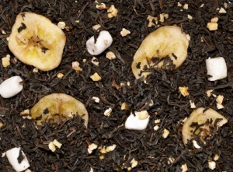 Черный чай Манкиз делайт (банан-ананас)