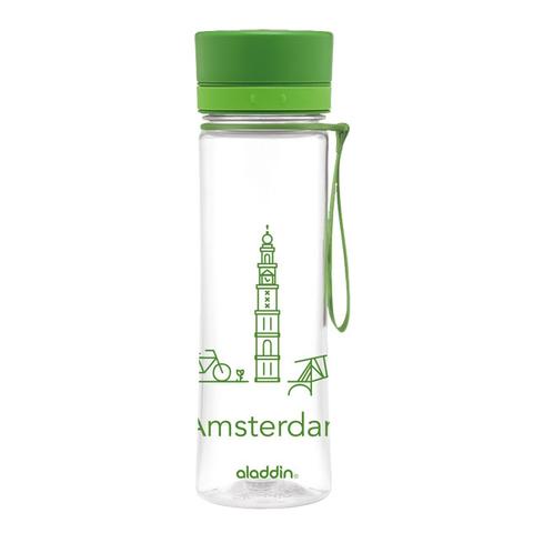 Бутылка Aladdin Aveo Amsterdam (0,6 литра), зеленая