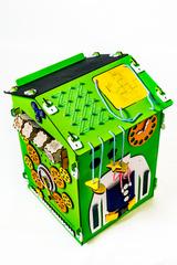 Easy Time Развивающий Большой БизиДом (зеленый) (dz03)