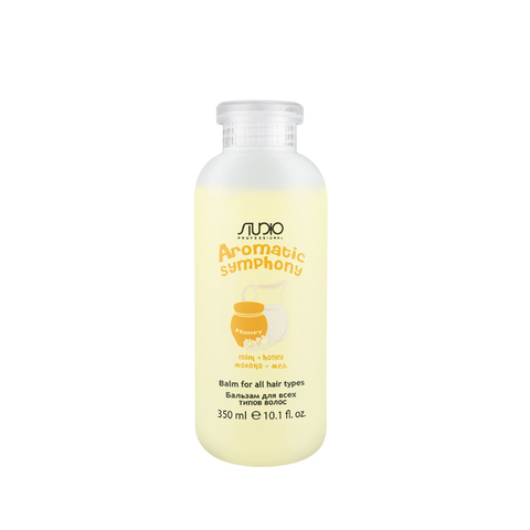 Бальзам для всех типов волос Молоко и Мед 350 мл. Kapous Studio