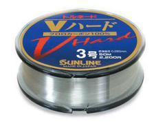 Флюорокарбон Sunline TORNADO V HARD 50m Clear 0.128mm 1kg