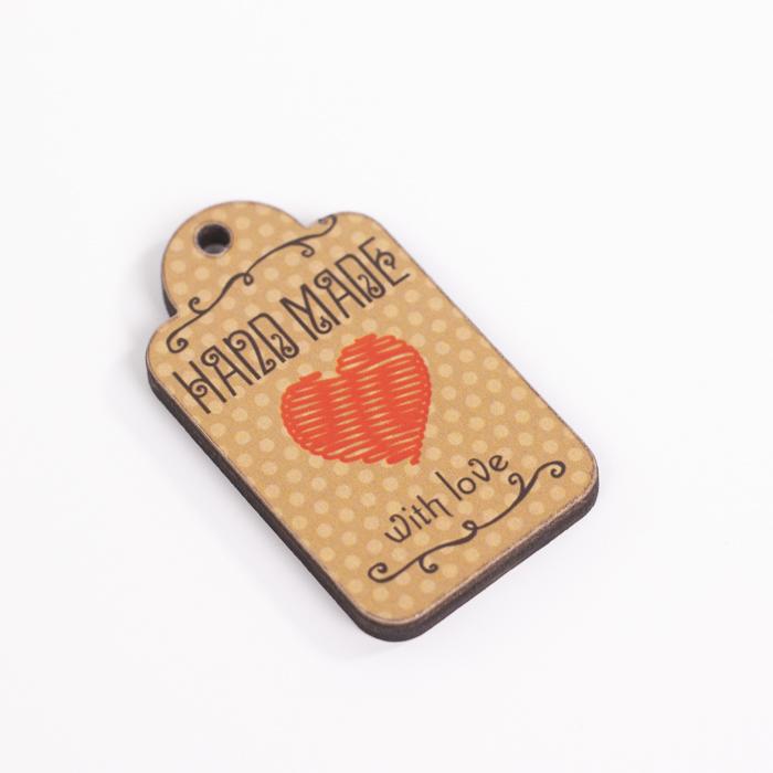 """Бирки Бирка """"Hand Made с сердечком"""" 5 см × 3 см IMG_9837.jpg"""
