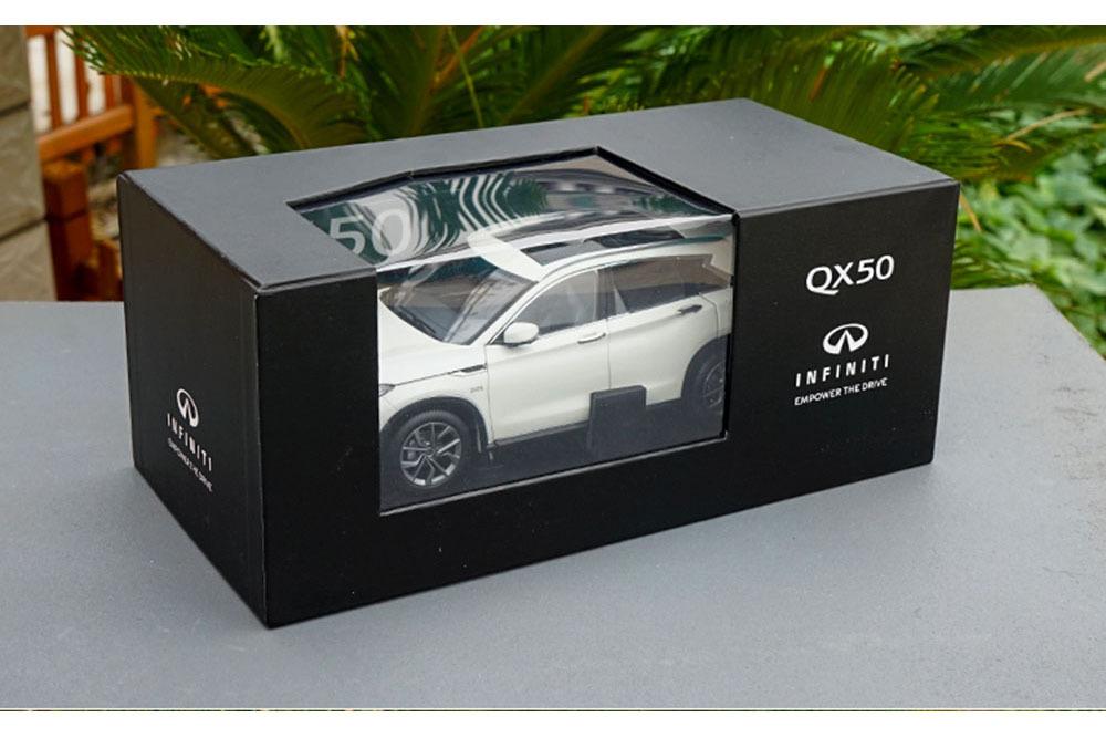 Коллекционная модель INFINITI QX50 II 2019 WHITE