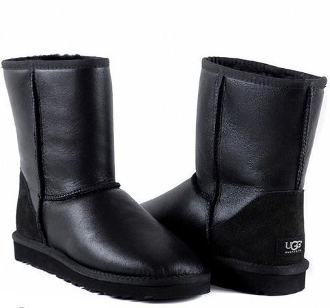 UGG Men's Classic Short Metallic Black