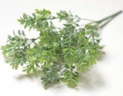 Искусственная зелень мелкого брусничника с патиной, букет 7 веток.
