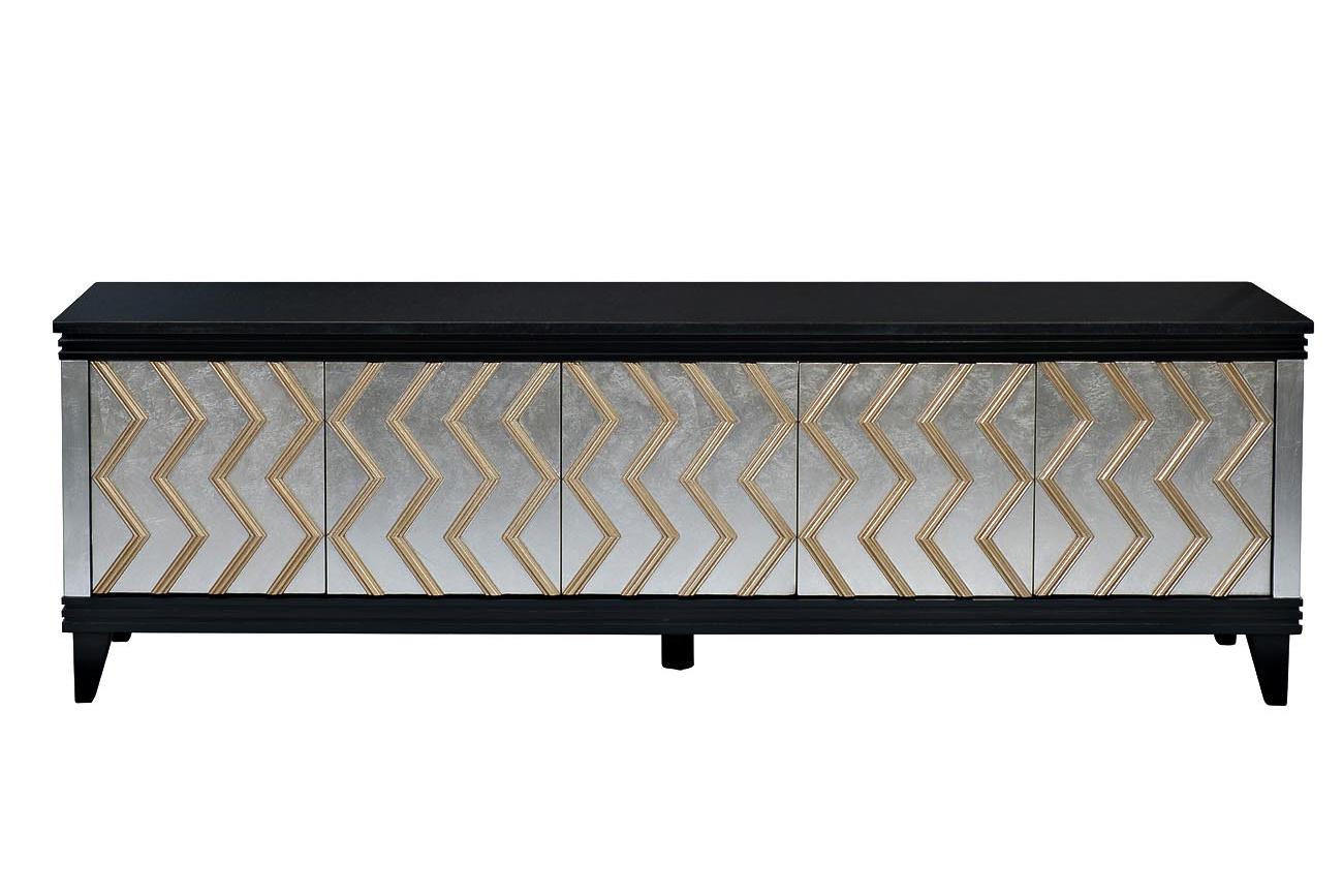 ART-1973-TV Тумба под ТВ со столешницей из нат.камня 193*45*60см