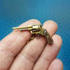 Miniature Lefocheux micro revolver