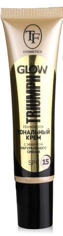 Triumph Крем тональный GLOW TRIUMPH FOUNDATION 201 слоновая кость CTW22