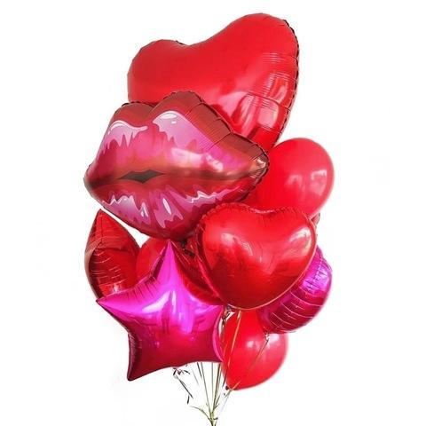 Букет воздушных шаров Романтический набор