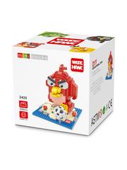 Конструктор Wisehawk Ред Красный Злобные птички 560 деталей NO. 2425 Red Angry Birds Series Nano Block