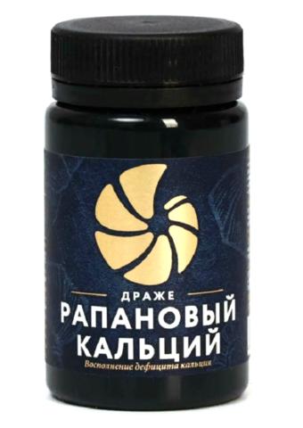 Фитодраже Рапановый кальций 50 г Кедровый мир