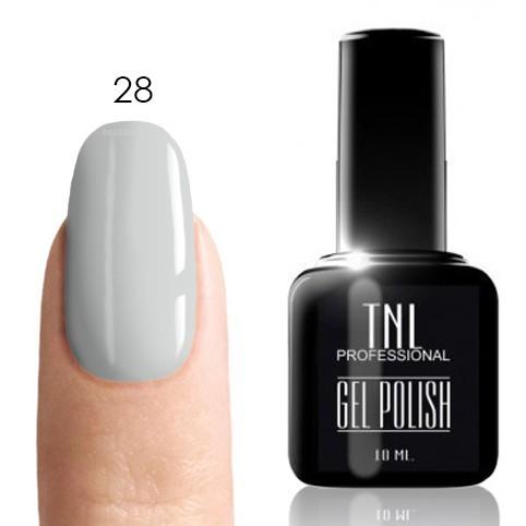 TNL Classic TNL, Гель-лак № 028 - снежная королева (белый)(10 мл) 28.jpg