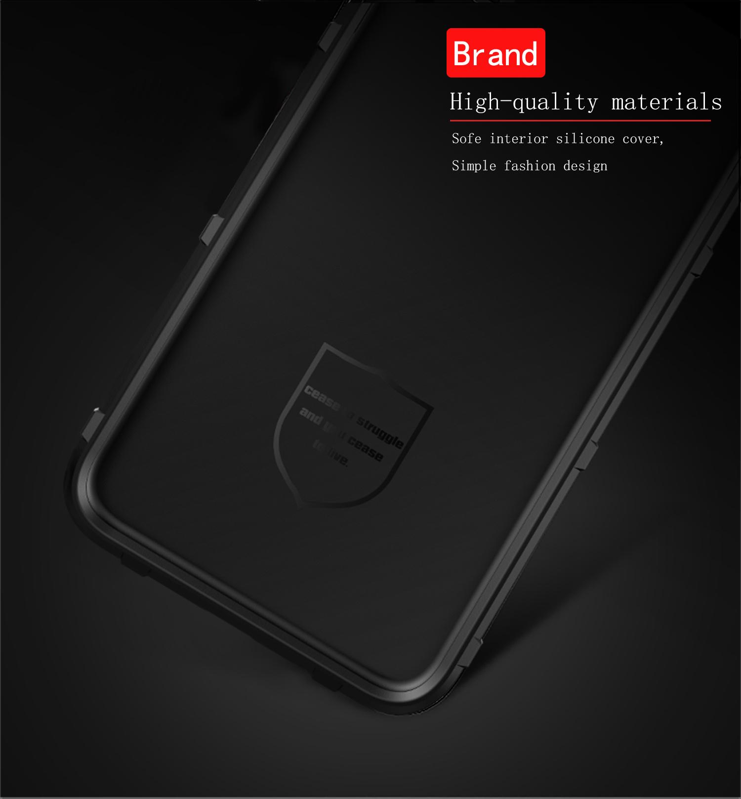 Чехол Samsung Galaxy A60 (Galaxy M40) цвет Black (черный), серия Armor, Caseport