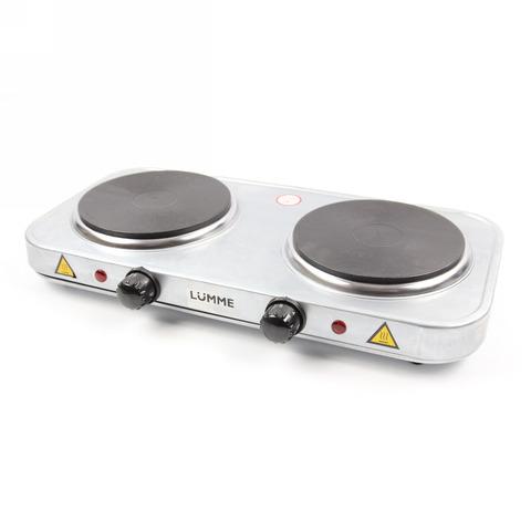 Плитка электрическая LUMME LU-3619 (2 конф., блин, сталь)
