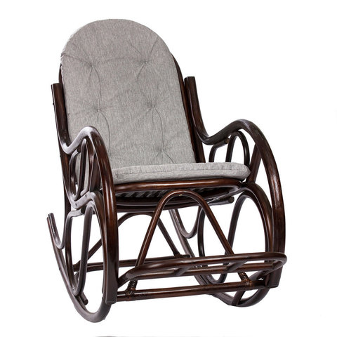 Кресло-качалка МИ «Classic» с подушкой, орех