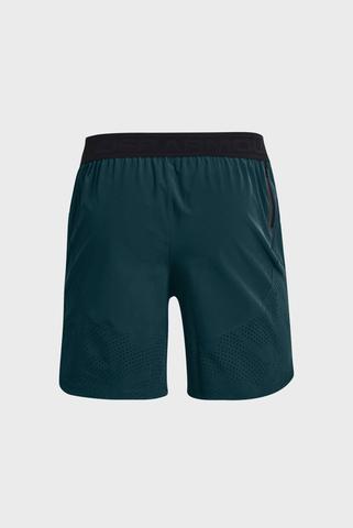 Мужские темно-зеленые шорты UA Stretch-Woven Shorts-BLU Under Armour