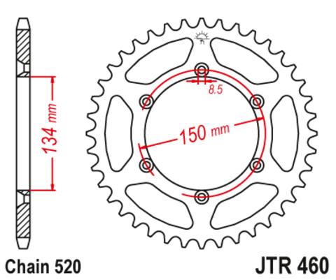JTR460