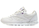 Кроссовки Reebok Classic Leather White ( с Мехом)
