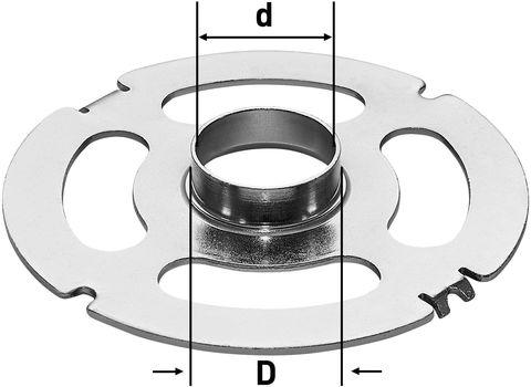 Копировальное кольцо KR-D 17,0/OF 2200