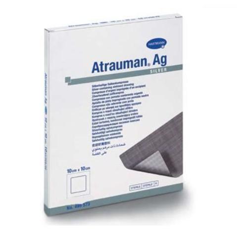 Стерильные повязки с серебром ATRAUMAN AG 10*10 см 1 шт