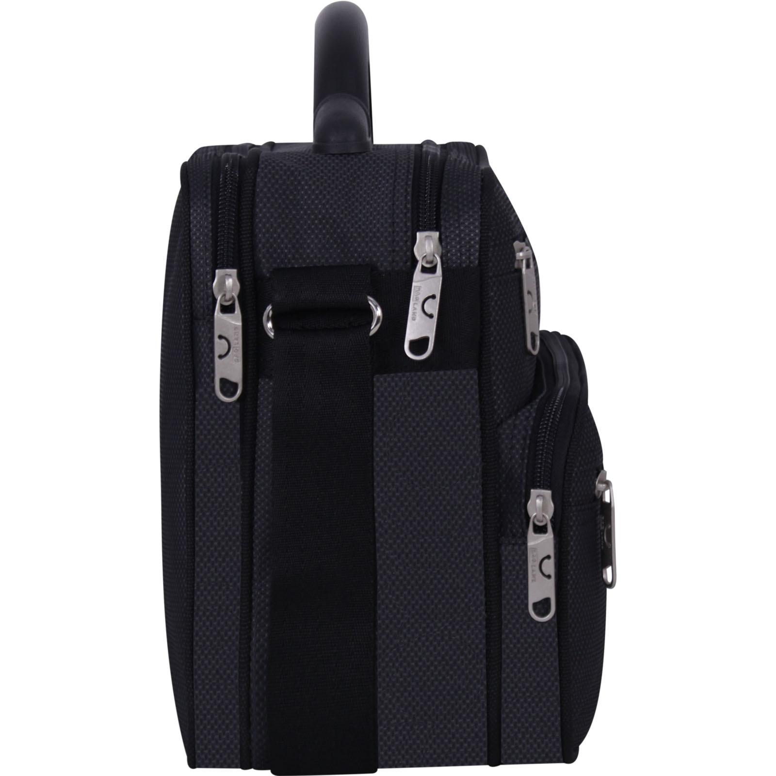 Мужская сумка Bagland Mr.Braun 8 л. Чёрный (00240169) фото 2