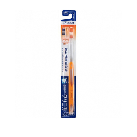 Зубная щетка 3-х рядная средней жесткости Lion Clinica