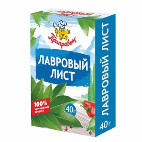 Приправа ПРИПРАВЫЧ Лавровый лист 40 гр кор РОССИЯ
