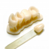 Фотополимер HARZ Labs Dental Sand (A1-A2), бежевый (1000 гр)