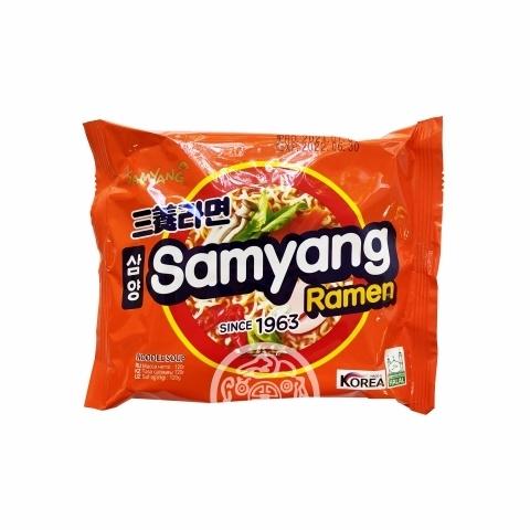 Лапша б/п Samyang ramen со вкусом говядина 120г Samyang Корея