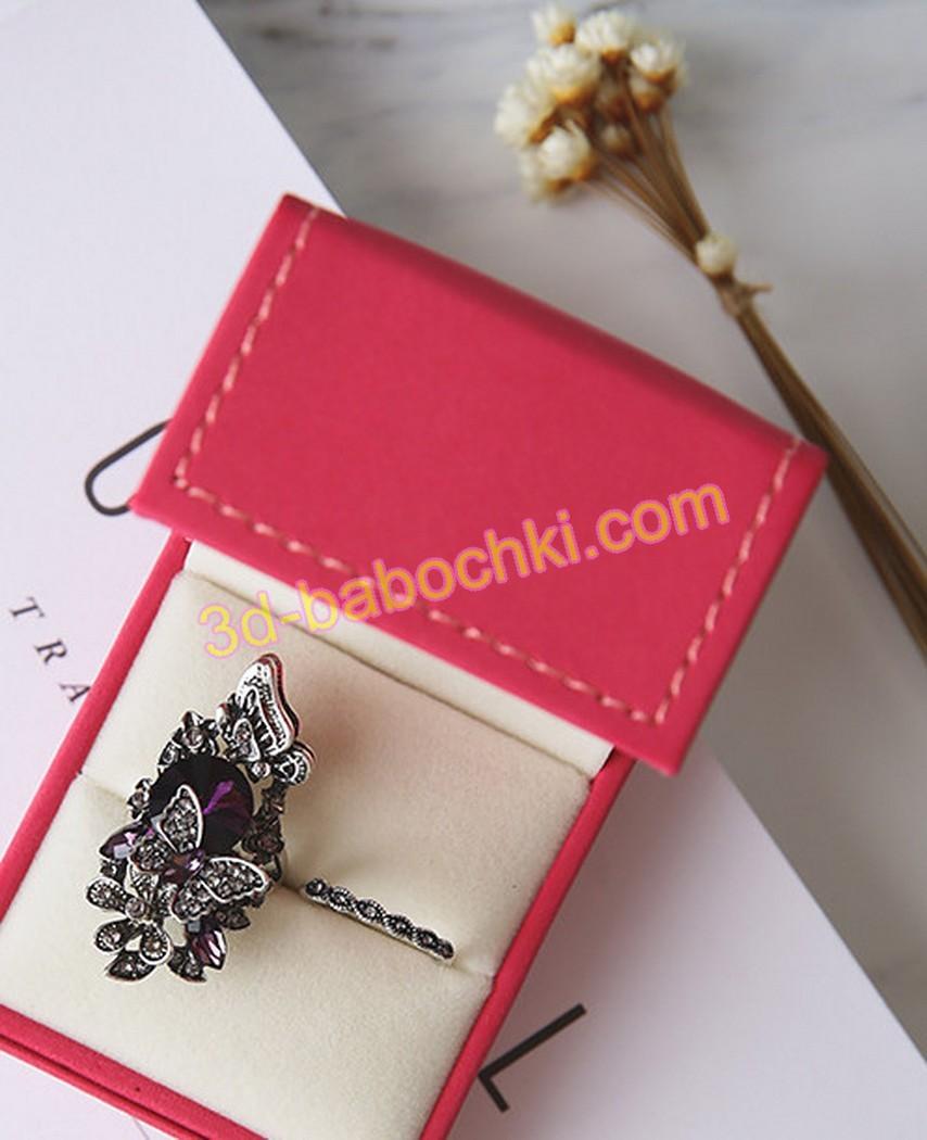 серебро бабочка