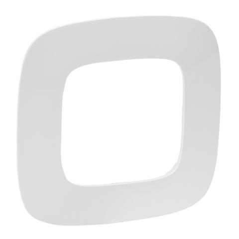 Рамка на 1 пост. Цвет Белый. Legrand Valena Allure (Легранд Валена Аллюр). 754301